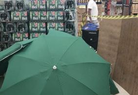 Funcionário morre e loja Carrefour esconde corpo com guarda sol
