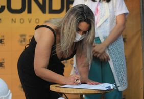 Ação que cassou Karla Pimentel da Prefeitura de Conde foi movida por membro da gestão