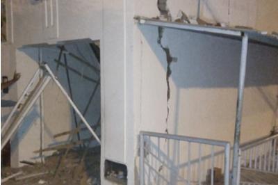 Bandidos trocam tiros com a polícia após explodirem banco na PB