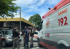 Mulher é ferida na cabeça durante assalto no Centro de JP