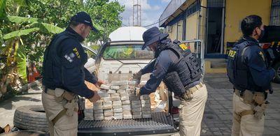 PRF apreende cocaína pura avaliada em mais de R$ 7 milhões, na Paraíba