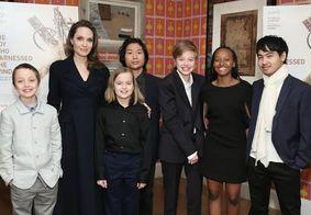 Angelina Jolie impõe quarentena de 14 dias para Brad Pitt rever os filhos