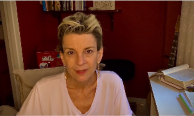 Cantora gospel Ludmila Ferber em vídeo sobre seu tratamento