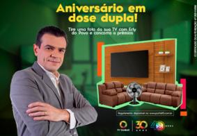 O participante deverá seguir o perfil da TV Tambaú (@tvtambau)