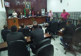 Quatro vereadores de Santa Rita investigados na Operação Natal Luz faltam à sessão