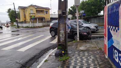 Acidente ocorreu em cruzamento, no bairro de Tambiá