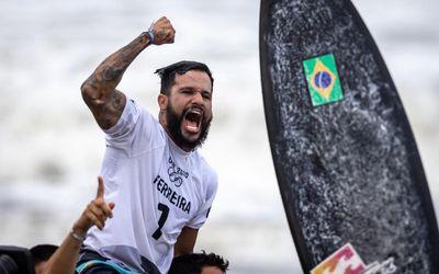 Italo conquistou a primeira medalha de ouro para o Brasil em Tóquio