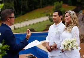 Andressa Urach se casa com Thiago Lopes