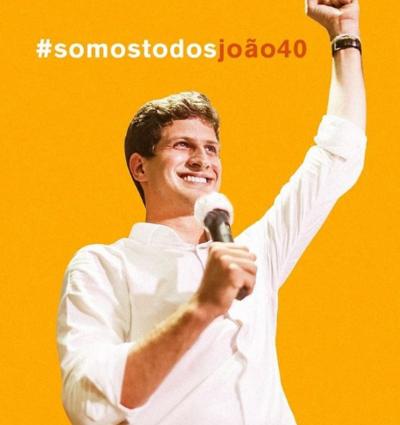 Prefeito eleito em Recife, João Campos agradece eleitores