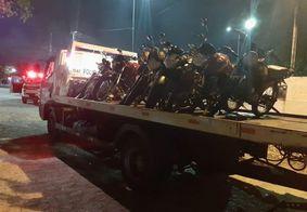 PM intensifica policiamento e apreende motocicletas irregulares na orla de João Pessoa