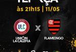 TV Tambaú/SBT transmite Unión La Calera x Flamengo