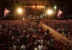 Réveillon na capital reúne mais de meio milhão de pessoas