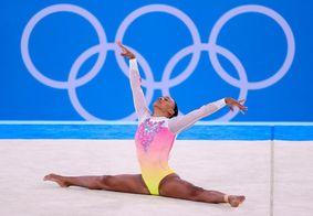 Rebeca Andrade se despede dos Jogos com um ouro e uma prata