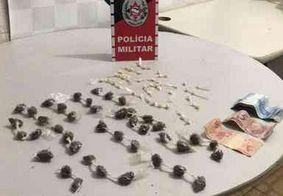 PM prende suspeitos de tráfico e apreende drogas no Litoral Norte da Paraíba