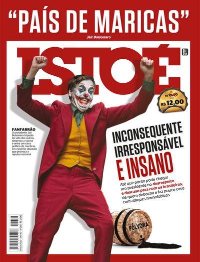 Capa de Istoé sobre Bolsonaro viraliza nas redes sociais