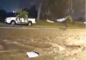 Fortes chuvas atingem sertão paraibano e moradores registram vídeos; veja