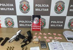 Três suspeitos de tráfico são presos no Carandiru, em João Pessoa