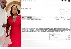 Recém-casados cobram mais de R$ 1 mil de quem não compareceu à festa