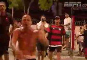 Equipe da ESPN é alvo de torcedores do Flamengo após eliminação
