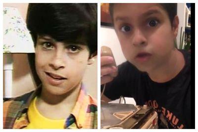 Vídeo: ator usa filtro do Snapchat para reviver 'Lucas Silva e Silva', de 'Mundo da Lua'