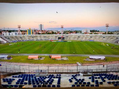 Estádio Amigão, em Campina Grande, foi palco do empate entre Treze e América-RN