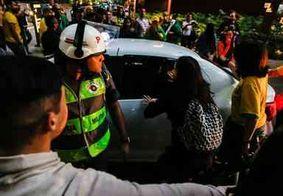 Mulher com camisa de Marielle Franco é perseguida e hostilizada em SP durante manifestação