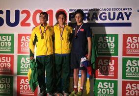 Atleta paraibano Daniel Azevedo é campeão Sul Americano nos 200 Medley