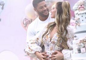 Hulk Paraíba revela sexo e nome do primeiro bebê com Camila Ângelo