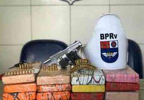 Militar reformado portando 12kg de cocaína é preso em Maceió