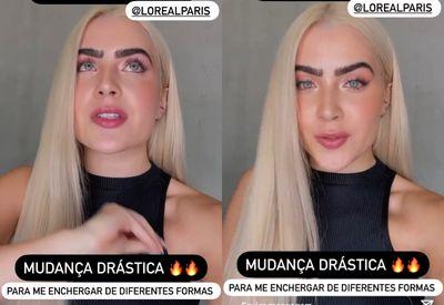 """Jade Picon comete erro de português em postagem e web não perdoa: """"Analfabeta"""""""