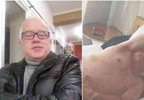 """Padre é afastado da Igreja depois de postar foto seminu em hotel em Portugal: """"rapidinha com loirinha"""""""