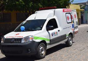 Ambulância é roubada durante falsa ocorrência na Paraíba