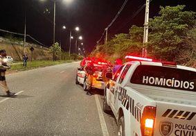 Equipes do Samu e polícia foram acionadas ao local