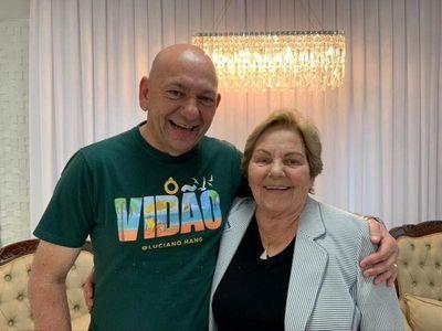 Mãe do empresário Luciano Hang morre após contrair Covid-19