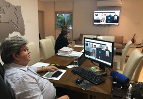 Governador e prefeitos da Paraíba definem logística de vacinação para Março