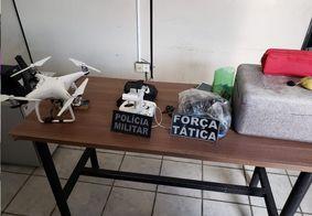 Material foi encontrado com suspeitos em uma residência