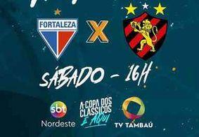 Copa do Nordeste: Fortaleza e Sport se enfrentam neste sábado (25)