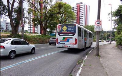 Avenida Vasco da Gama, em João Pessoa, terá faixa exclusiva de ônibus