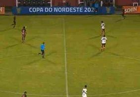 Confira a classificação dos grupos A e B da Copa do Nordeste após fechamento da 5ª rodada