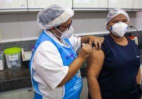 Sete mil trabalhadores da saúde foram vacinados contra a Covid-19, em João Pessoa