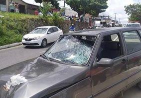 Idoso morre após acidente de trânsito no José Américo