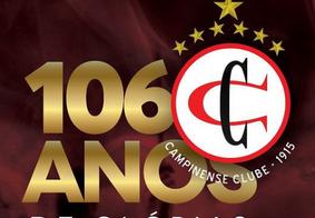 Único paraibano campeão da Copa do Nordeste, Campinense completa 106 anos exaltando as principais conquistas