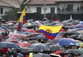 Protesto na Colômbia deixa três mortos