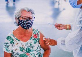 Vacinação de idosos a partir de 60 anos continua nesta segunda (5) em João Pessoa