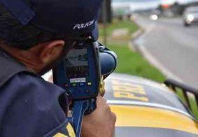 Uso de radares móveis deve ser retomado pela PRF na próxima segunda-feira (23)