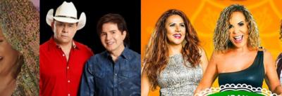 Fafá de Belém, Chitãozinho & Xororó e Irah Caldeira são atrações nas lives desta quarta-feira (17)