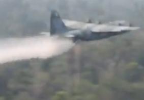 Vídeo: FAB publica imagens de aviões combatendo focos de incêndio na Amazônia