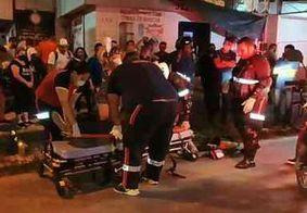 Motociclista é socorrido em estado grave após colisão no bairro Cristo Redentor