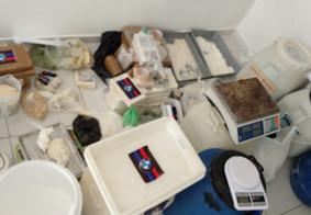 Polícia localiza mais de 64 quilos de cocaína em laboratório que abasteceria PB e PE