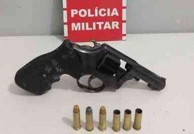 Dois homens são presos com armas de fogo em Santa Rita